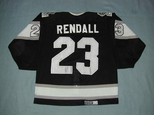Indianapolis Ice #23 RENDALL Road